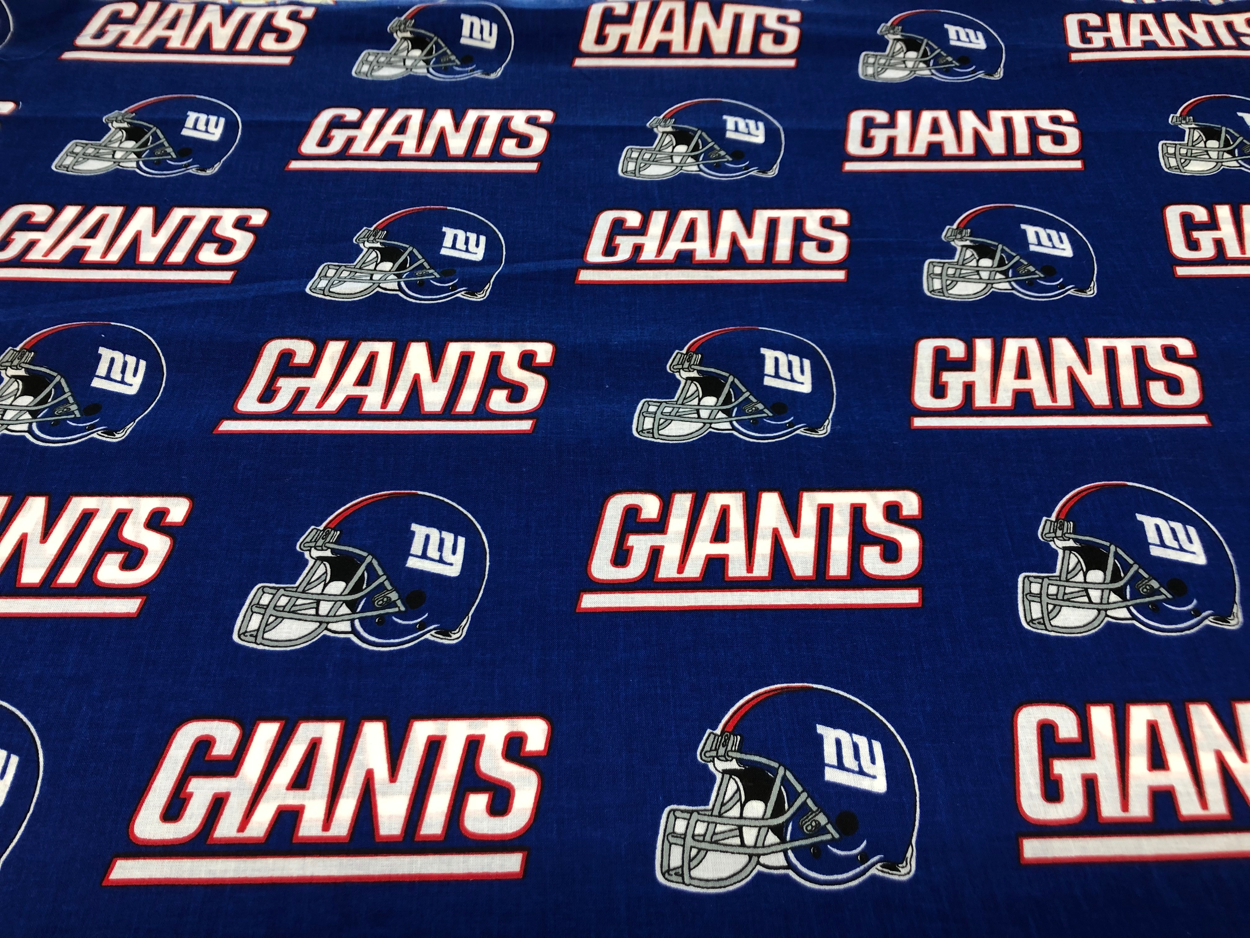 New York Giants Cotton